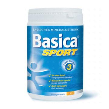 Basica Sport prah v plastični posodi, 660 g