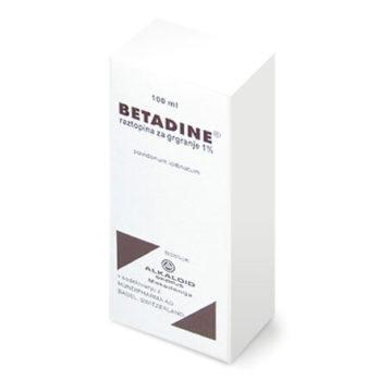 Betadine raztopina za grgranje, 100 ml