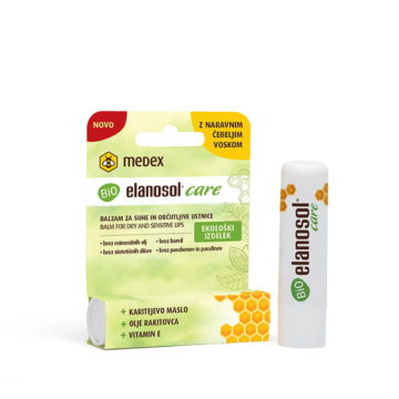 BIO Elanosol Care balzam za ustnice, 5,2 g