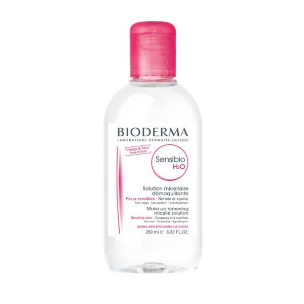 Bioderma Sensibio H2O čistilni micelarni losjon, 250 ml