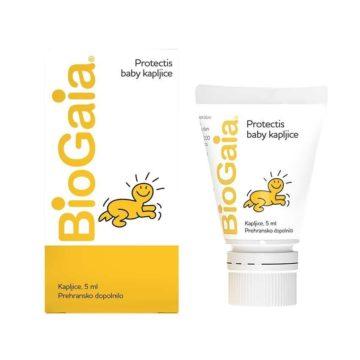 BioGaia Protectis Baby kapljice za otroke in dojenčke, 5 ml