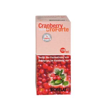 Biogelat Cranberry UroForte tekoči izvleček, 120 ml