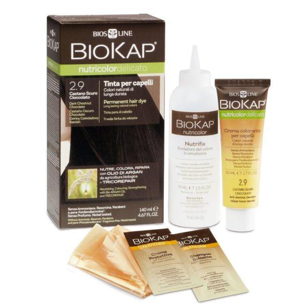 Biokap Delicato barva za lase, 140 ml