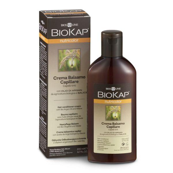 Biokap Nutricolor balzam za barvane lase z arganovim oljem, 200 ml