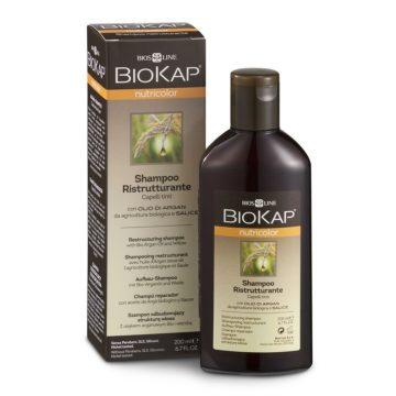 Biokap Nutricolor šampon za barvane lase z arganovim oljem, 200 ml