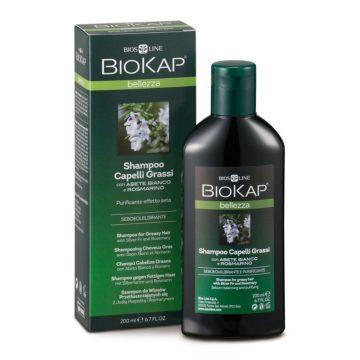 Biokap šampon za mastne lase, 200 ml