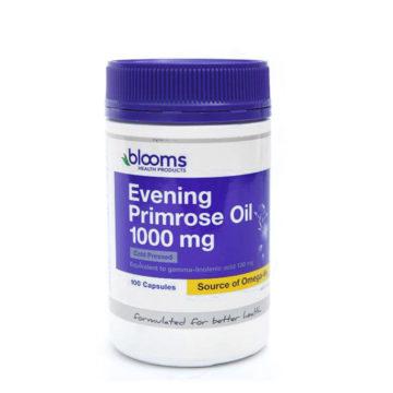 Blooms Svetlinovo olje 1000 mg, 100 kapsul