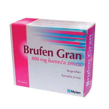 Brufen Gran 400 mg šumeča zrnca,12 vrečk