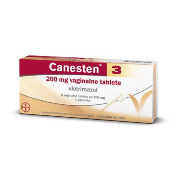 Canesten 3 200 mg vaginalne tablete, 3 vaginalne tablete