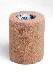 Coban elastični povoj 7,5 cm x 4,5 m kožna
