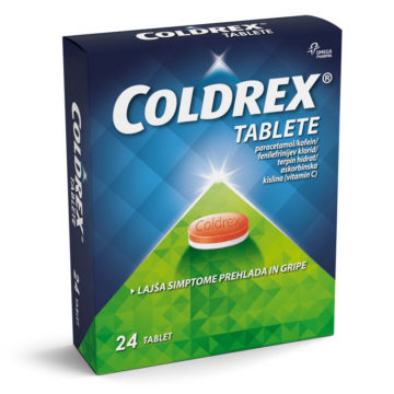 Coldrex tablete za lajšanje simptomov prehlada in gripe , 24 tablet