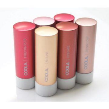 Coola Liplux obarvani balzam za ustnice z ZF30, 4,2 g