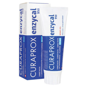 Curaprox Enzycal 950 zobna pasta, 75 ml