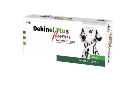 Dehinel Plus Flavour tablete, 4 tablete