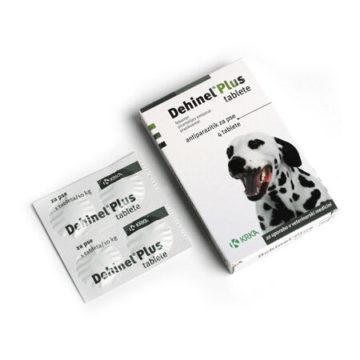 Dehinel Plus tablete za pse, 4 tablete