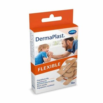 DermaPlast Flexible 6 x 10 cm, 10 obližev