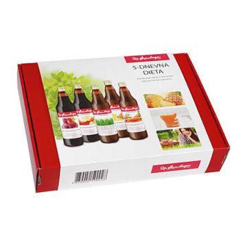 Dr. Steinberger 5-dnevna prečiščevalna dieta s sokovi, 5 x 750 ml