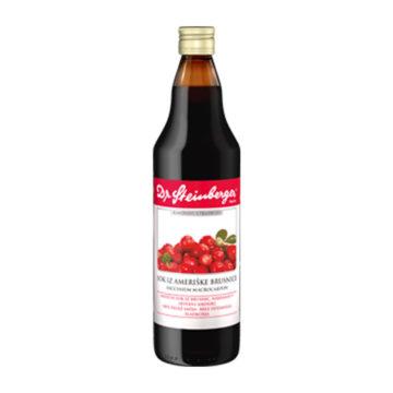 Dr. Steinberger Ameriška brusnica sok, 330 ml