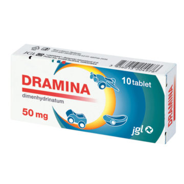 Dramina 50 mg tablete, 10 tablet