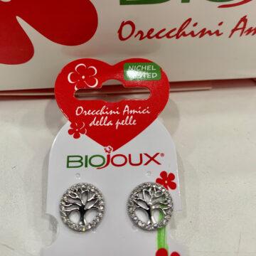 Biojoux medicinski uhani drevo življenja