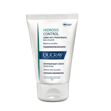 Ducray Hidrosis Control 48-H antiperspirantna krema za dlani in podplate, 50 ml