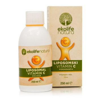 Ekolife Natura Liposomski vitamin C, 250 ml