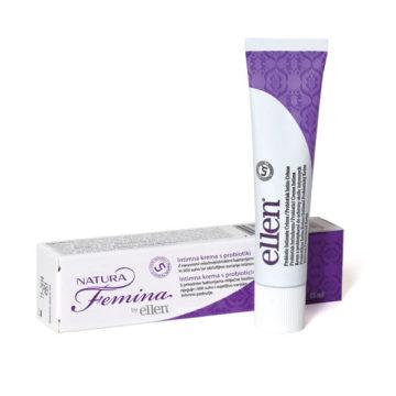 Eleen Natura Femina intimna krema s probiotikom, 15 ml