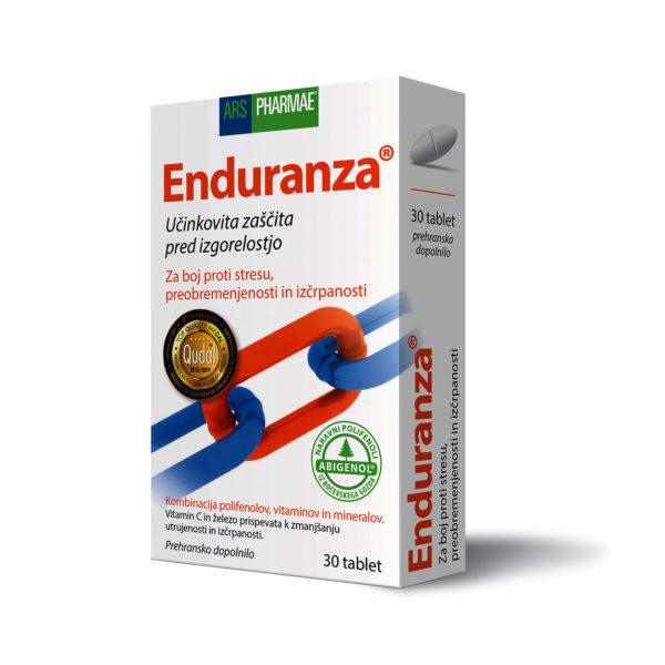 Enduranza tablete za izboljšano odpornost, 30 tablet