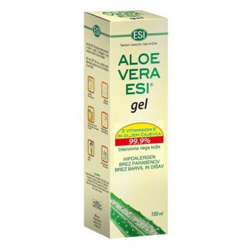 ESI Aloe vera gel z vitaminom E, 100 ml