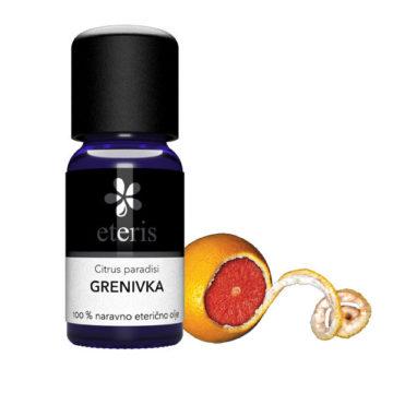 Eteris eterično olje grenivka, 10 ml