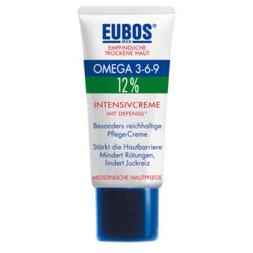 Eubos 12� Omega Hydro Activ pomirjujoč losjon za telo, 200 ml