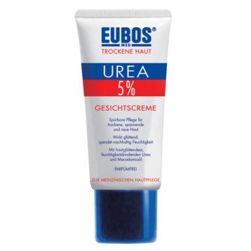 Eubos 5� Urea krema za obraz, 50 ml