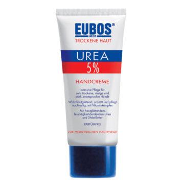 Eubos 5 Urea krema za suhe in razpokane roke, 75 ml
