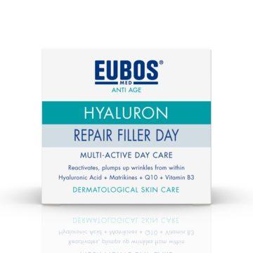 Eubos Anti Age Hyaluron Repair Filler dnevna, 50 ml