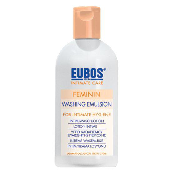Eubos Feminin intimna čistilna emulzija, 200 ml