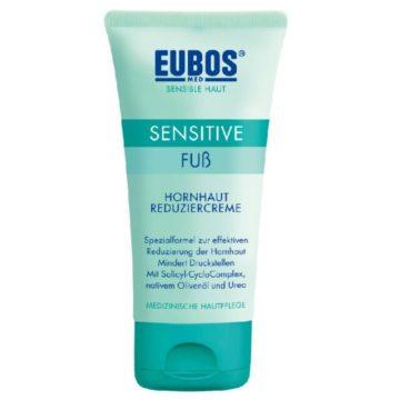 Eubos Sensitive krema za zmanjševanje trde kože na stopalih, 75 ml