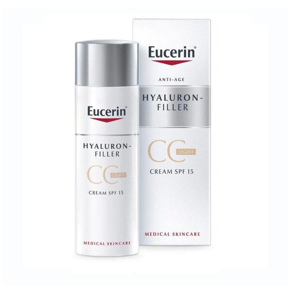Eucerin Hyaluron-Filler CC krema Light, 50 ml