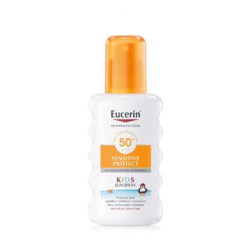 Eucerin Sun sprej za zaščito otroške kože pred soncem ZF50+, 200 ml