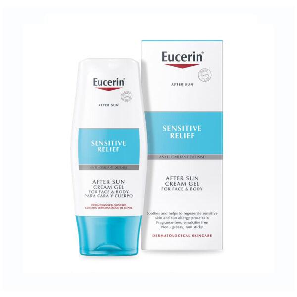 Eucerin After Sun Sensitive kremni gel, 150 ml