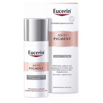 Eucerin Anti-Pigment nočna nega proti pigmentnim madežem, 50 ml