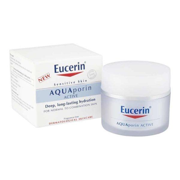 Eucerin Aquaporin Active vlažilna krema za normalno-mešano kožo, 50 ml