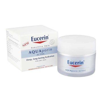Eucerin Aquaporin Active vlažilna nega za suho in občutljivo kožo, 50 ml