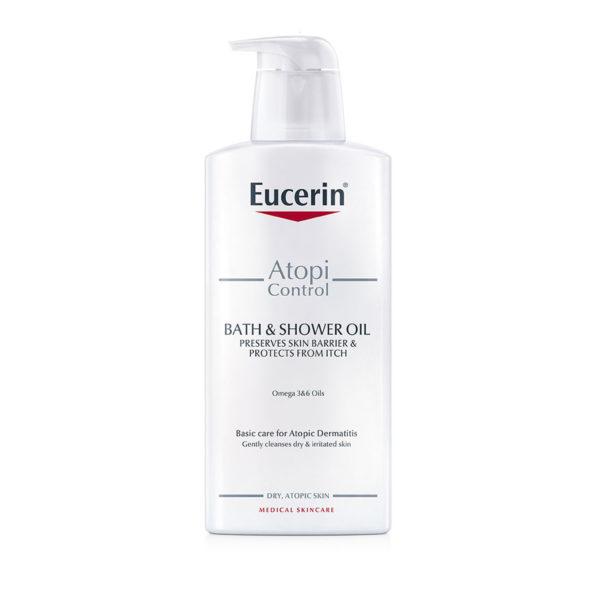 Eucerin AtopiControl čistilno olje, 400 ml