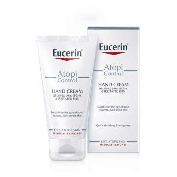 Eucerin AtopiControl intenzivna krema za roke, 75 ml