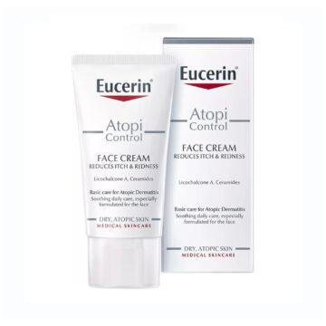 Eucerin AtopiControl krema za obraz, 50 ml