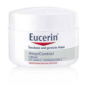 Eucerin AtopiControl negovalna krema, 75 ml