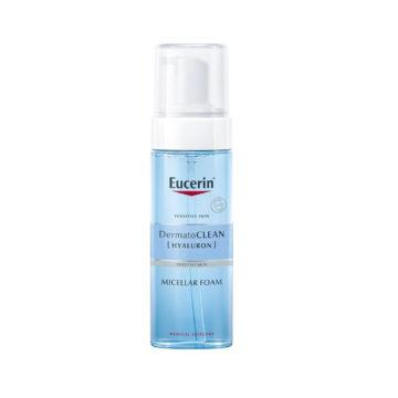 Eucerin DermatoClean Hyaluron micelarna čistilna pena, 150 ml