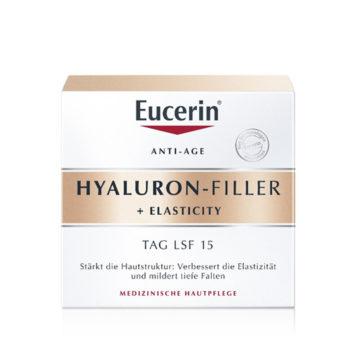 Eucerin Hyaluron Filler + Elasticity dnevna krema, 50 ml ZF 15