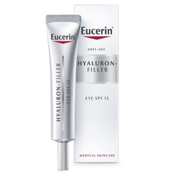 Eucerin Hyaluron-Filler krema za nego okrog oči ZF15, 15 ml