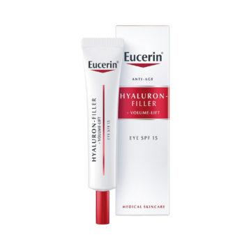 Eucerin Hyaluron Filler + Volume Lift krema za okrog oči, 15 ml